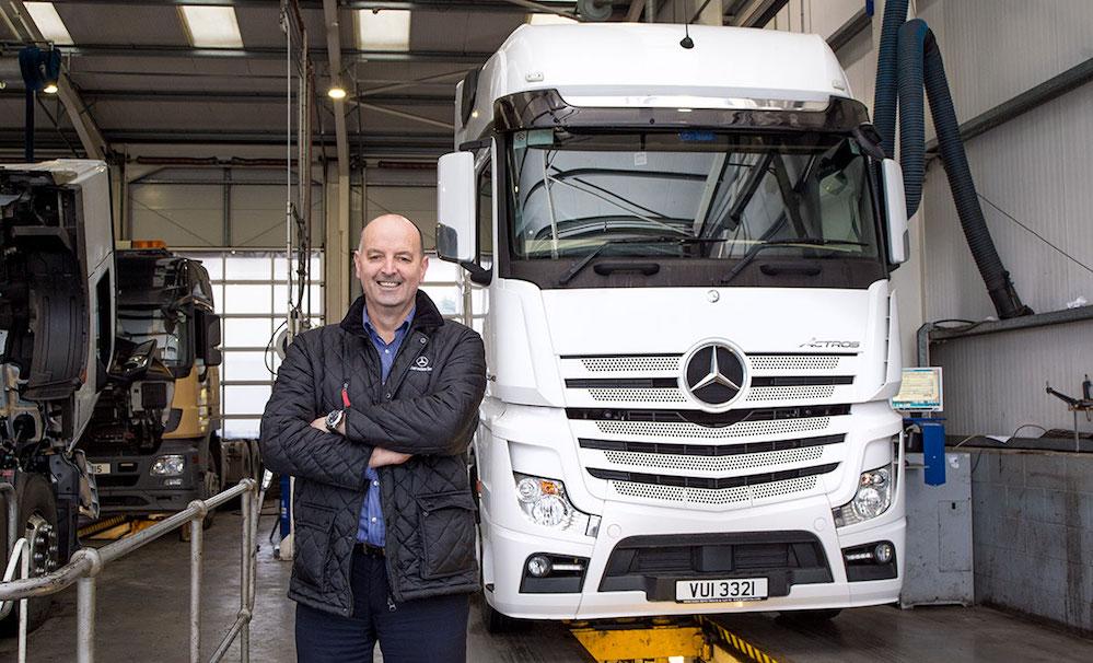 Rab Takes The Workshop Lead At Mercedes Benz Truck Amp Van