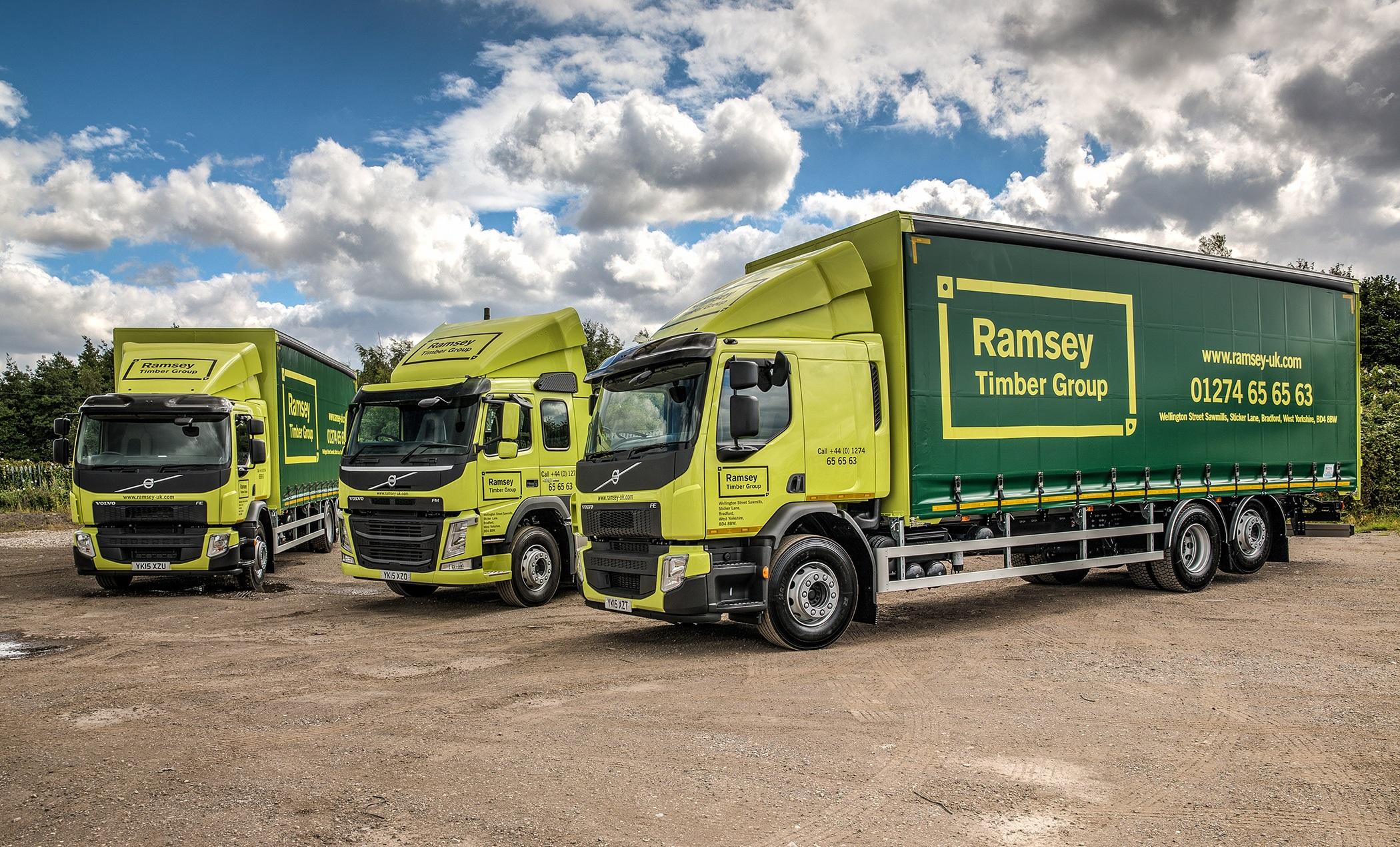 Ramsey Timber Group Beds In New Volvo Trucks Fleet Uk