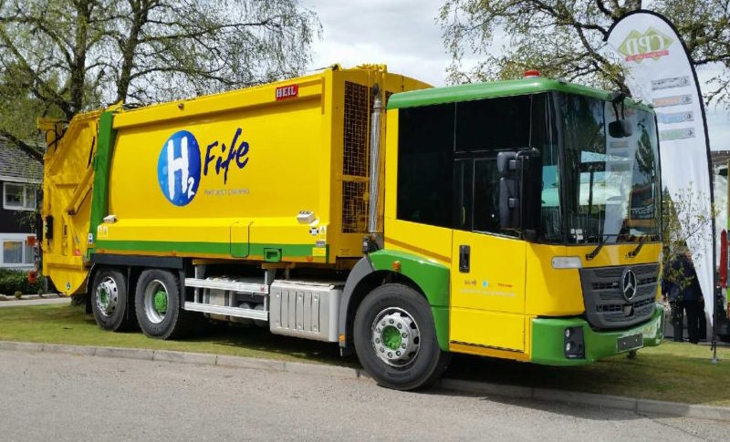 Fife converts two RCVs to use hydrogen fuel | Trucks UK ...