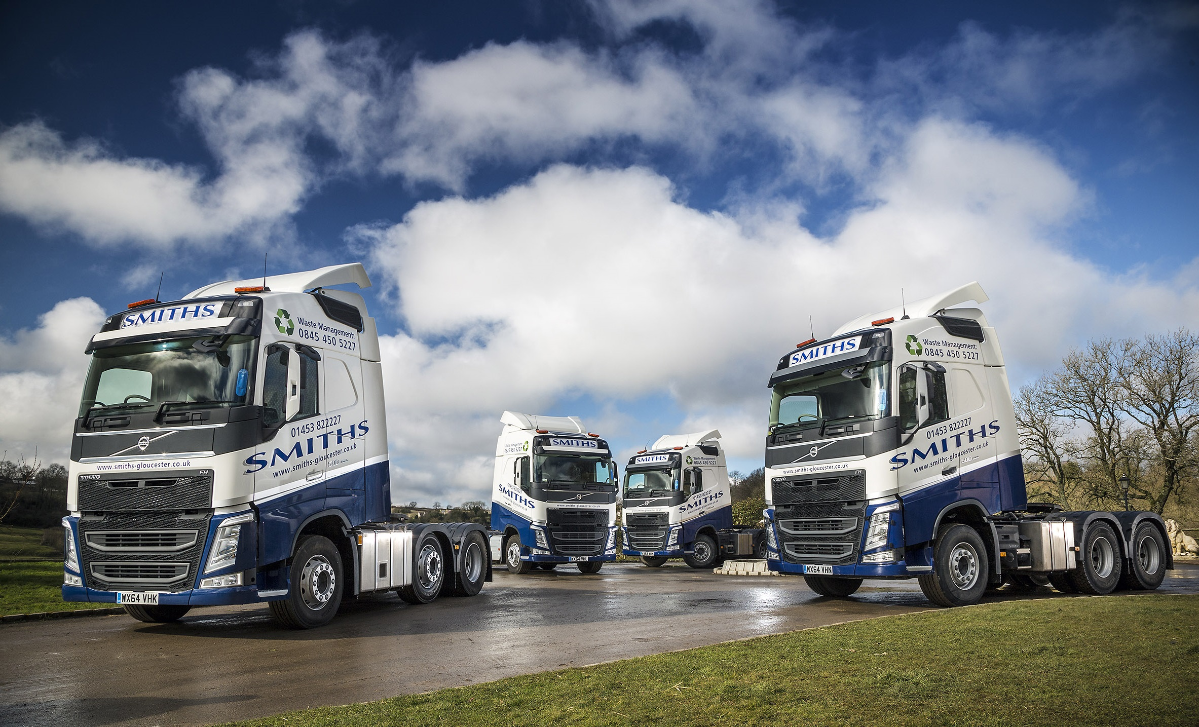 New Livery Rolled Out On First New Trucks For Smiths