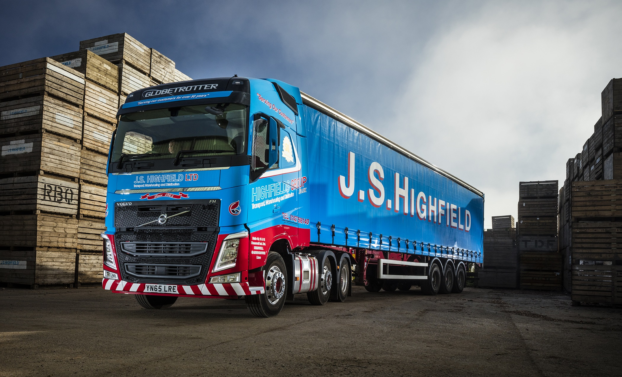 Tough FH 'Clears the Ground' down on the farm for J. S. Highfield | Fleet UK Haulier