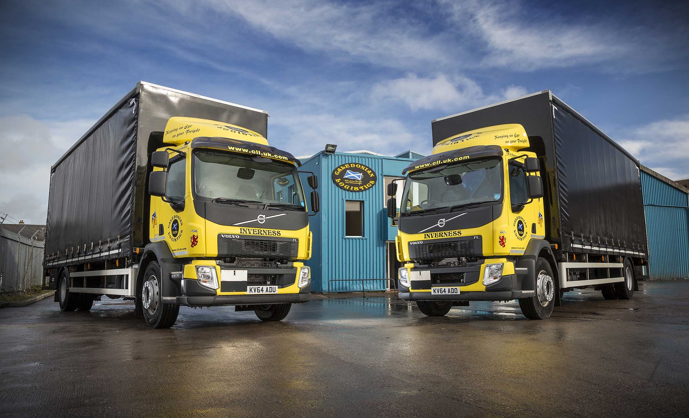 First Volvo FL 18T GVW Rigids join Caledonian Logistics ...