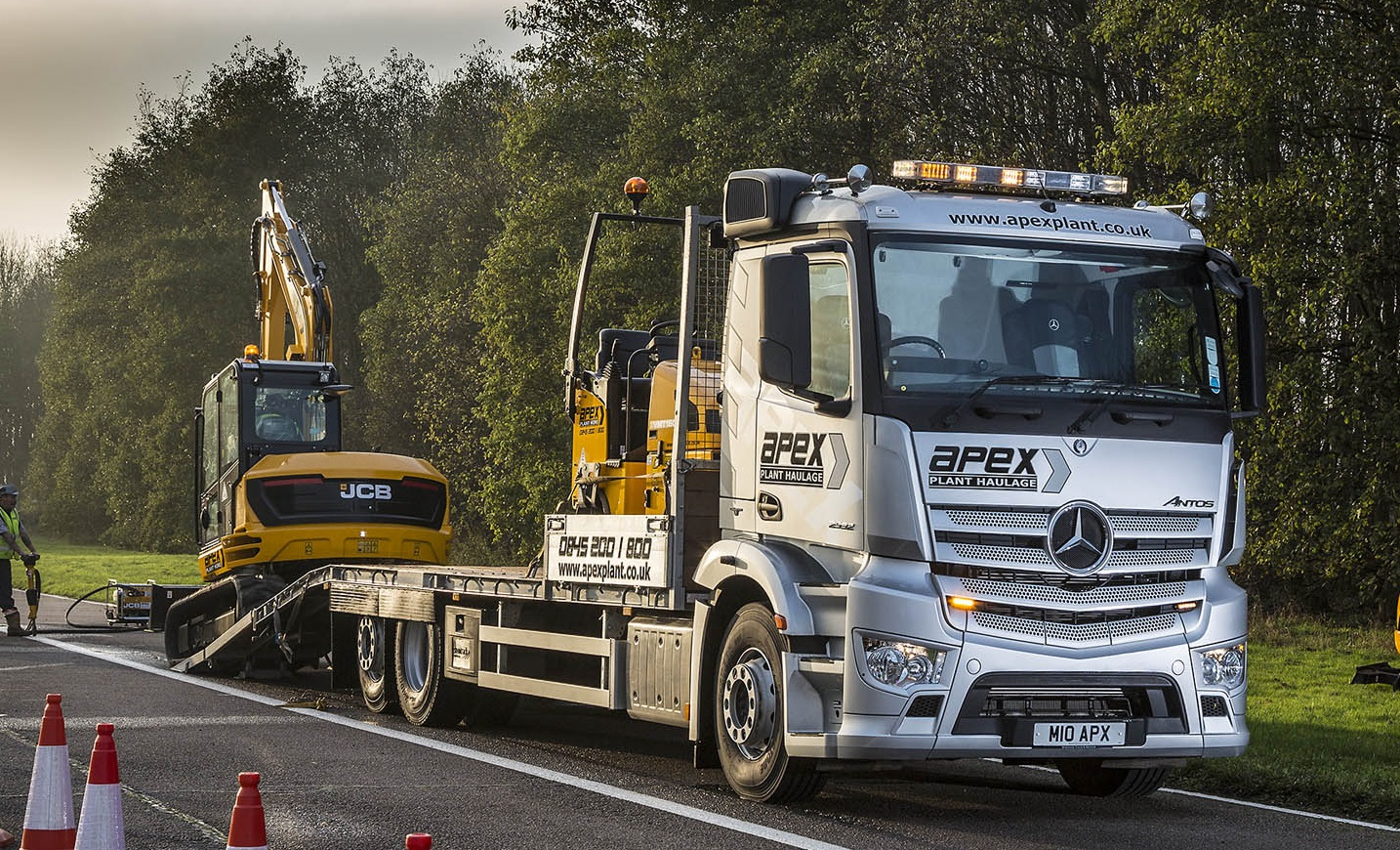 Plant hire partnership pays off again for Mercedes-Benz | Trucks UK Haulier