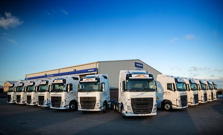 Focus on safety as first Volvo Trucks join Freshlinc fleet | Trucks UK Haulier