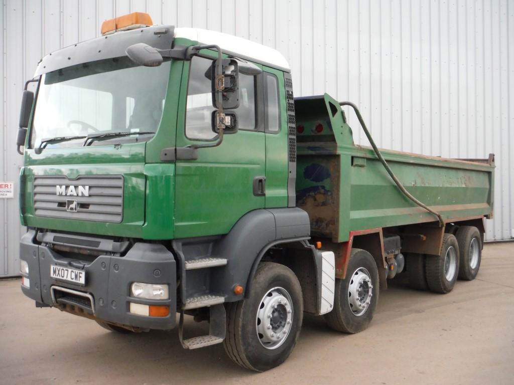 Man Tga 35 400 Rigid Trucks For Sale In Market Weighton