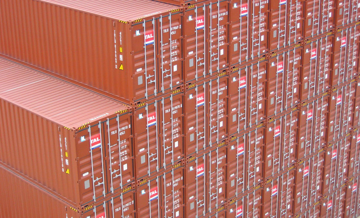 TAL shipping containers